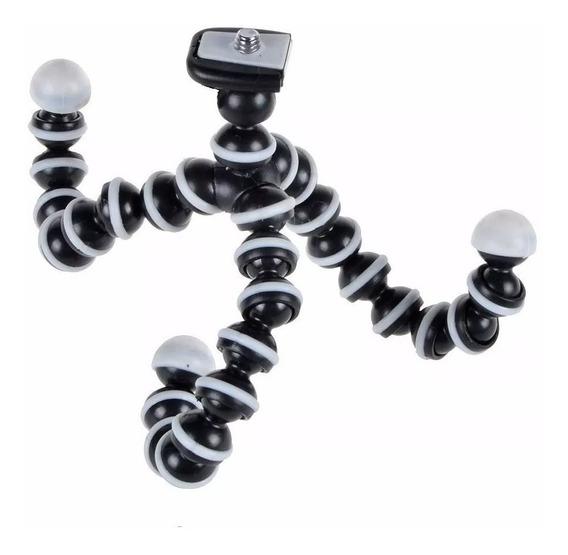 Tripé Flexível Articulado Gorillapod Octopus 27cm Go Pro