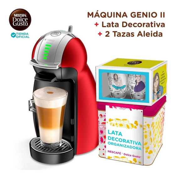 Nescafe® Dolce Gusto® Máquina Genio® Ii Roja