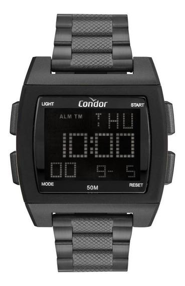 Relógio Masculino Condor Digital Cobj2649ag/8c 46mm Grafite
