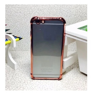 Capinha Capa Case Anti-impacto iPhone 6 Plus Rose Rosa Gold