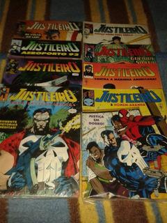 Hq Justiceiro Formatão 01 Ao 08 Coleção Completa Ed. Abril