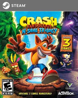 Crash Bandicoot N-sane Trilogy Pc (steam)