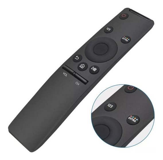 Controle Tv Samsung 4k Smart Bn98-06762l 40k6500 Un43nu7100g