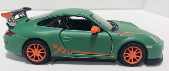 Miniatura Velozes E Furiosos Porsche Verde Escala 1/32