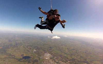 Salto En Paracaídas Con Instructor