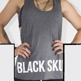 Regata Feminina Fitness - Black Skull