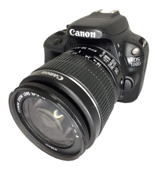 Canon Sl1 100d Seminova Perfeito Estado + Acessórios