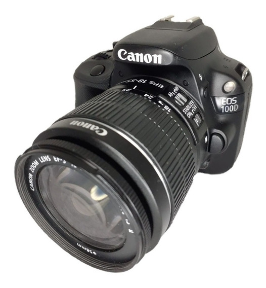 Câmera Canon Sl1 100d Seminova Perfeito Estado