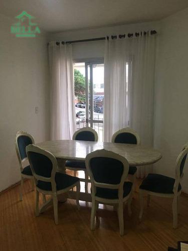 Apartamento Residencial Para Locação, Vila Mangalot, São Paulo. - Ap0930