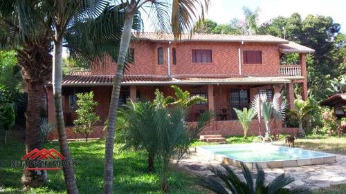 Imagem 1 de 19 de Chácara Com 3 Dormitórios À Venda, 4000 M² Por R$ 670.000,00 - Parque Interlagos - São José Dos Campos/sp - Ch0009