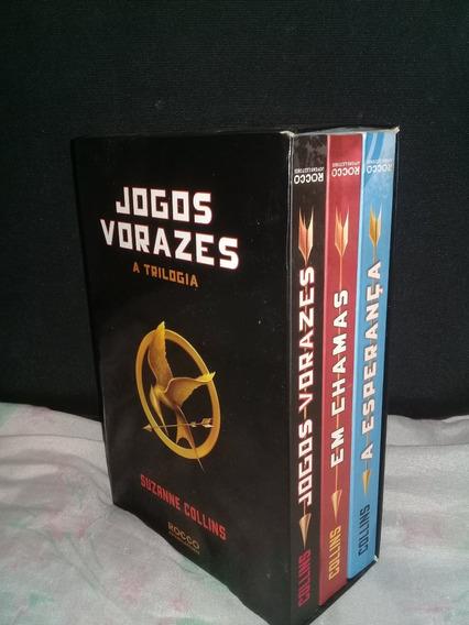 Livros Box Trilogia Jogos Vorazes