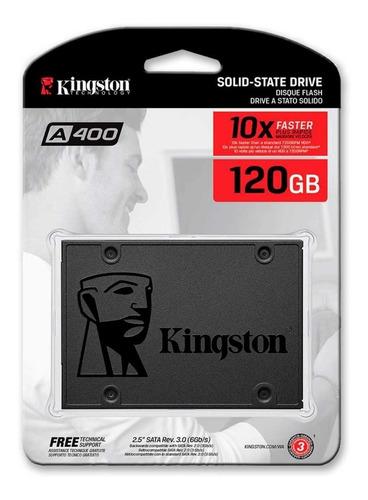 Kingston Sa400s37/120g Ssd Disco Sólido 120 Gb Sata3