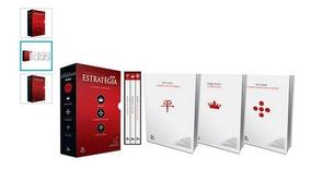 Box Livros Essencial Da Estratégia - Novo - Frete Gratis