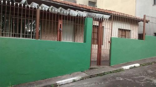 Imagem 1 de 11 de Casa Térrea Com Salão Comercial, 3 Dormitórios, 1 Vaga - Bairro Assunção - São Bernardo Do Campo  - 36516