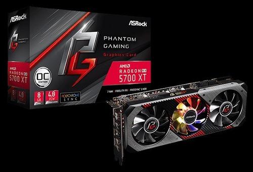 Imagem 1 de 7 de Rx 5700 Xt Phantom Gaming D 8gb