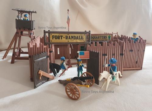 Playmobil Fuerte Retro Vintage 80´s Fort Randall
