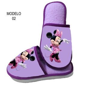 Pantufa Minnie - Personalizada