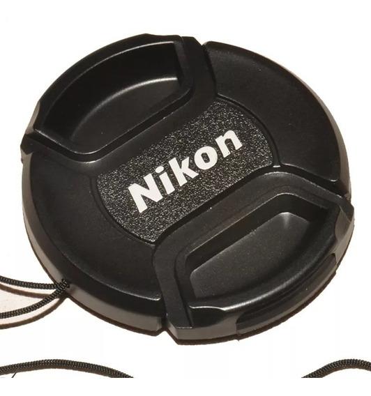 Tampa De Lente Objetiva Nikon 52ø 52mm Lens Cap