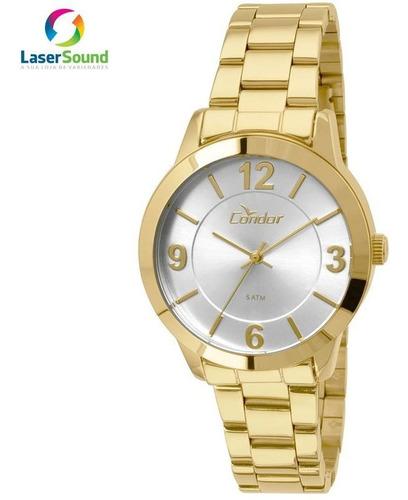 Relógio Condor Feminino Co2035koo/4k, C/ Garantia E Nf