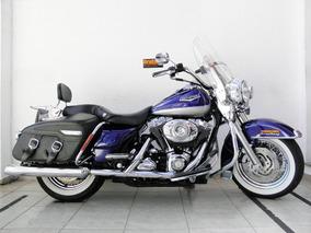 Harley Davidson Road King Classic Flhrc Azul 2007