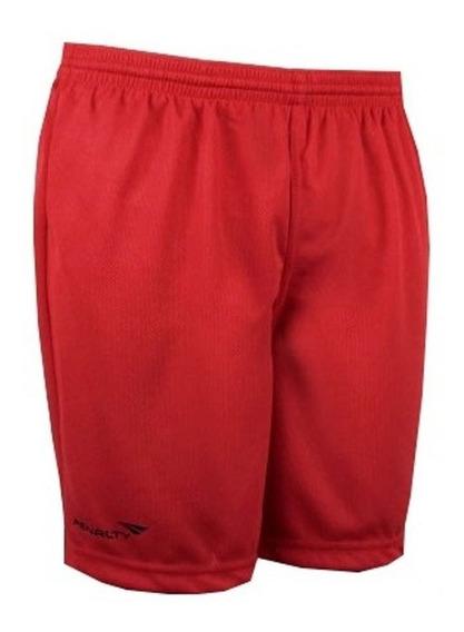 Calção Futebol Corrida Musculação-vermelho-original--penalty