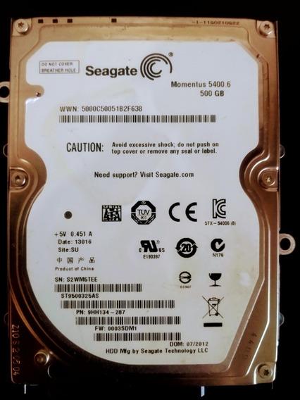 Hd Notebook : Seagate 500gb