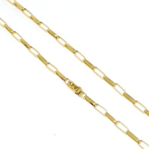 Cordão Masculino 10 Gramas Ouro 18k 750 Maciço 60cm