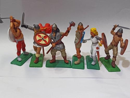 Vikingos Soldaditos De Juguete A Pie Soldados La Plata Myuj