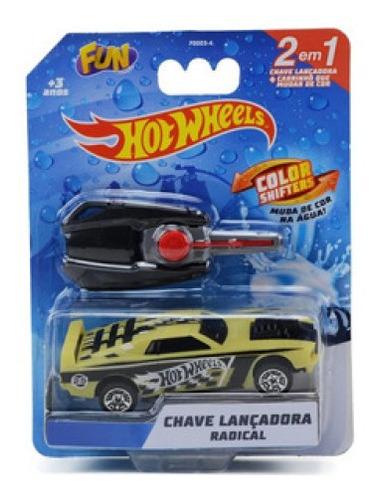 Hot Wheels Chave Lancadora Radical Color Shifters