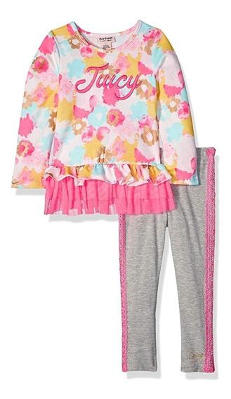 Conjunto Juicy Couture Para Niña Talla 5 Años