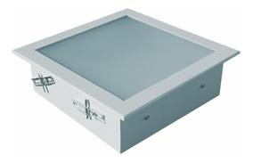 Embutido Gesso Vidro Interno 20x20 - C/5