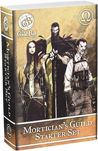 Steamforged Games Guild Ball Mortician Starter Set