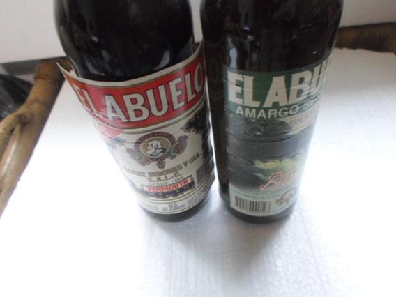 Botella El Abuelo Vermouthi X 950 Cc Llena Coleccionable