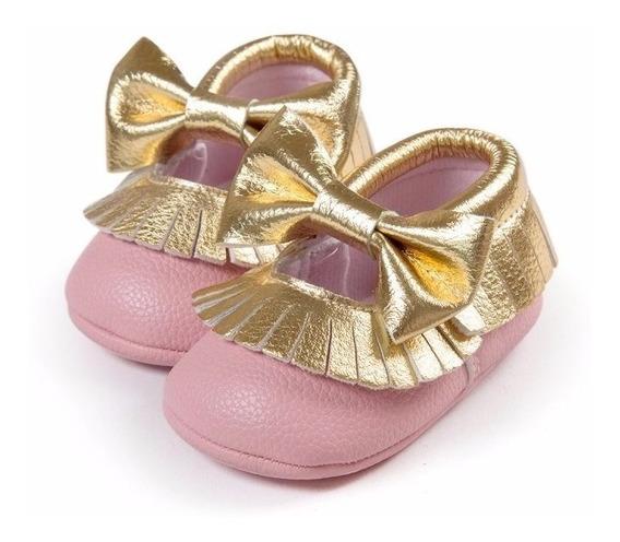 Zapato Zapatito Tipo Mocasin Bebe Niña Varios Modelos
