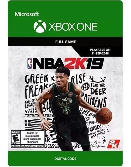 Nba 2k19 Xbox One Codigo De 25 Digitos Original