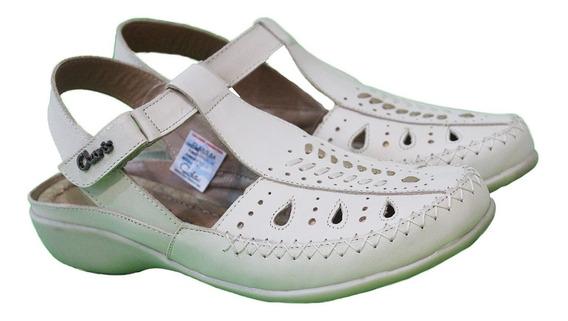 Guaracha Cuero Mujer Art Bonafila. Marca Claris Shoes