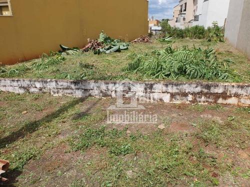 Terreno À Venda, 250 M² Por R$ 300.000,00 - Jardim Botânico - Ribeirão Preto/sp - Te0362