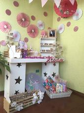 Mesa De Dulces, Allquiler Mobiliario Candy Bar, Decoracion