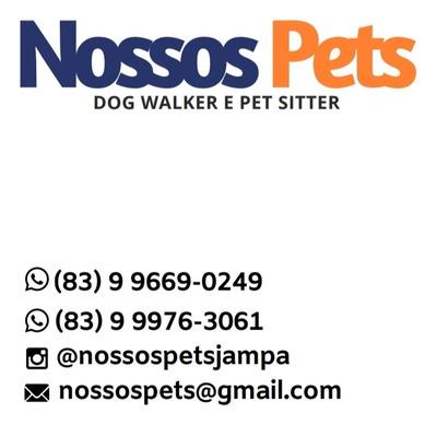 Nossos Pets - Passeios Com Cães E Baba À Domicílio