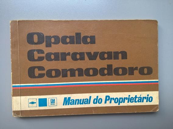 Manual Do Proprietário Opala Caravan Comodoro E Ss Ano 1978