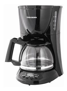 Cafetera Electrica Timer 12 Pocillos 800w Ken Brown Ch C116t