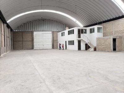 Bodega En Renta 1,150 M Toluca Cerca De Sendero Y Aeropuerto