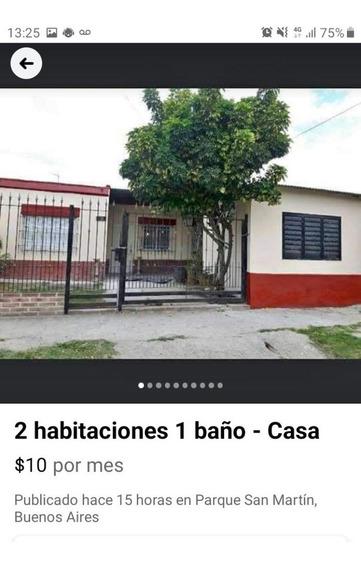 Casa 2 Dormitorios En Parque San Martin - Merlo