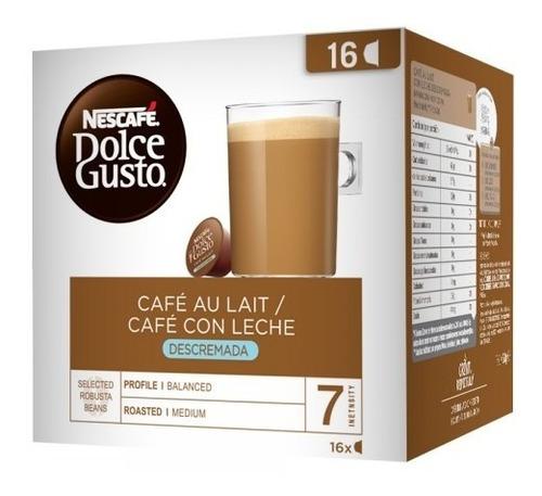 Cápsulas Dolcegusto Café Au Lait Skinny. Hiperofertas