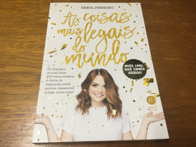 Livro As Coisas Mais Legais Do Mundo Frete R$ 12,00