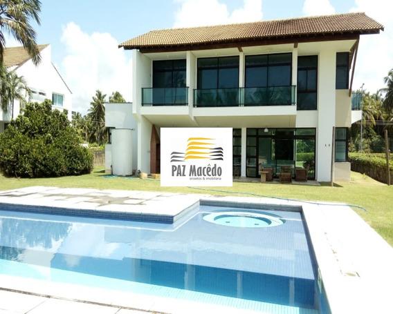 Condomínio Morada Península Casa Com 4 Suítes No Na Reserva Do Paiva. Confira! - Ca00020 - 68306607