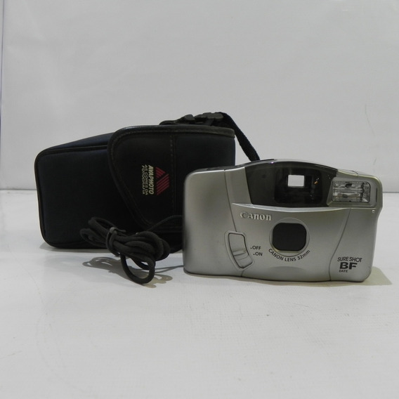 Câmera Analógica Canon Sure Shot Bf Date 32mm