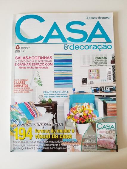 Revista Casa E Decoração Nº 39 De Novembro De 2010