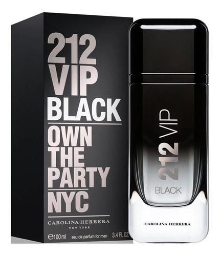 Perfume Carolina Herrera 212 Vip Black 100ml Original  sz®