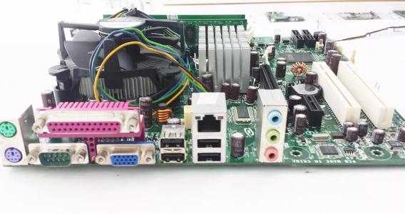Placa Mãe Intel D945gcnl + Dual Core+2gb Memória